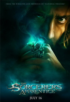 پوستر فیلم The Sorcerer's Apprentice