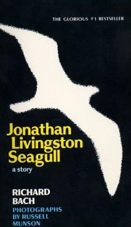 طرح روی جلد کتاب جاناتان مرغ دریایی
